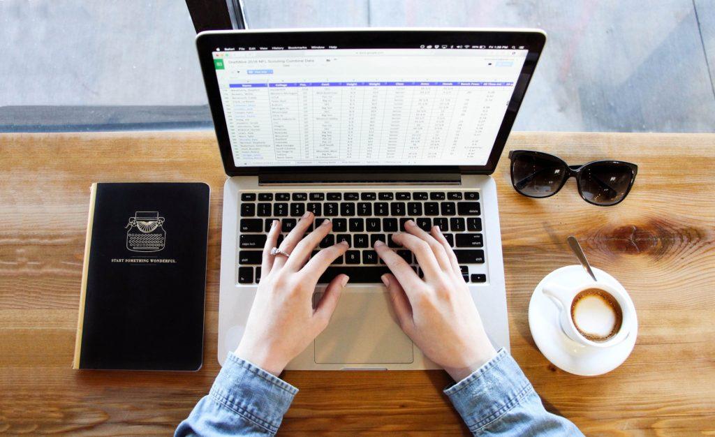 Computer spreadsheets saving