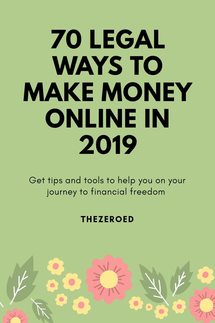 Pinterest make money online
