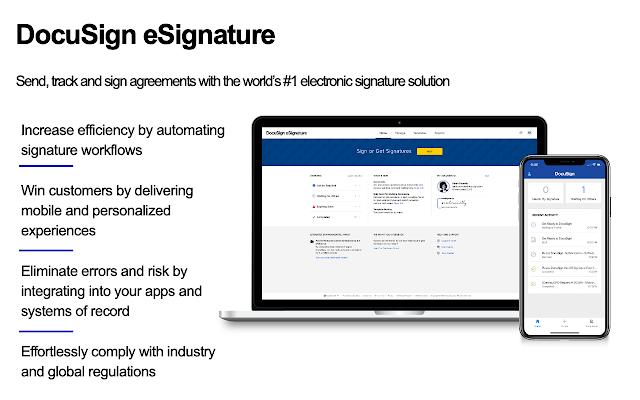 DocuSign sales tools